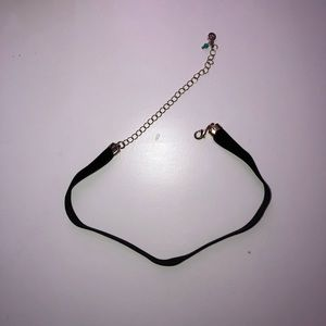 Simple Black Choker from Hollister